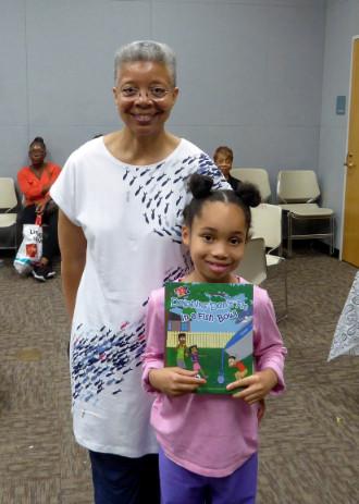 Monique and Venice Patton_winner of TDK book