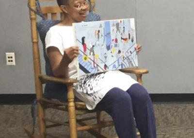 Monique at Read-a-thon