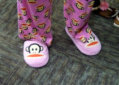 Paul Frank pajamas and slippers