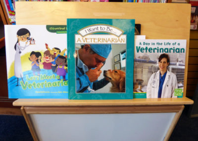 Three titles available through Houston Public Library