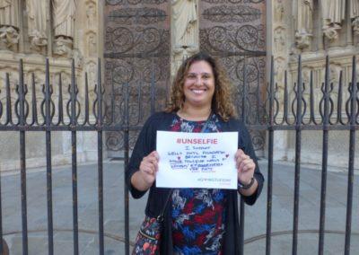 Elaine Reeves De Charbonneau Unselfie_no glasses_Notre Dame