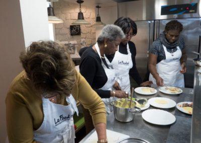 Dominique_Eleanor_Erma_Theresa plating main dish
