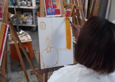 Michele's work in progress