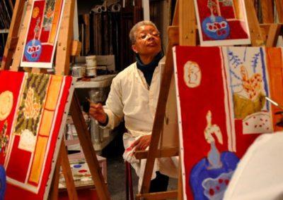 Monique painting