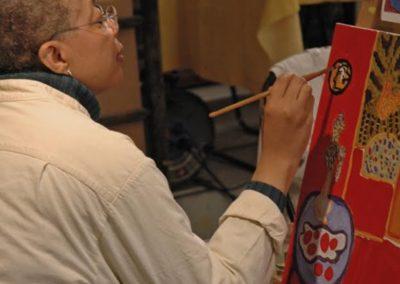 Monique painting_close-up