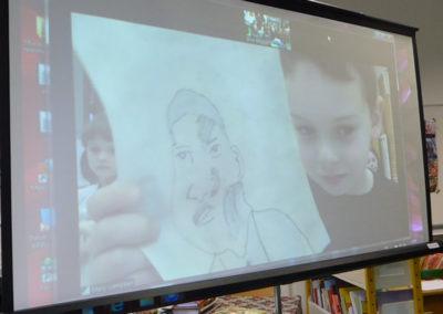 Andrew-portrait of MLK