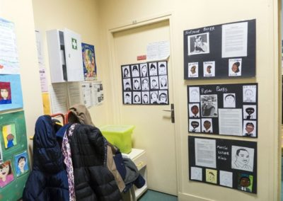 Display of children's works 1