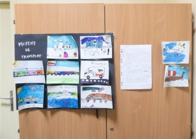 Display of children's works 3