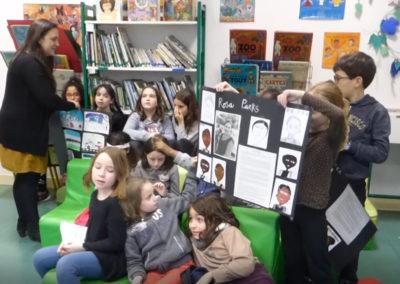 Jean Zay kids_Rosa Parks poster
